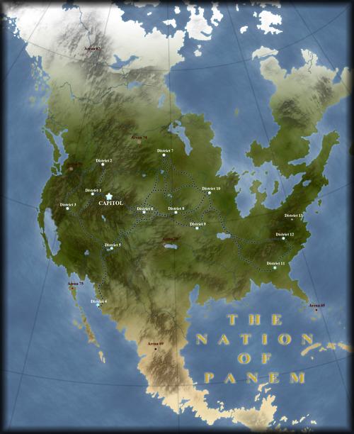 one more map of panem the fandom