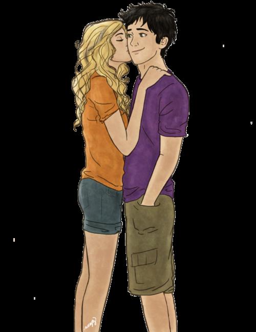 Annabeth Kisses Percy Thefandom News
