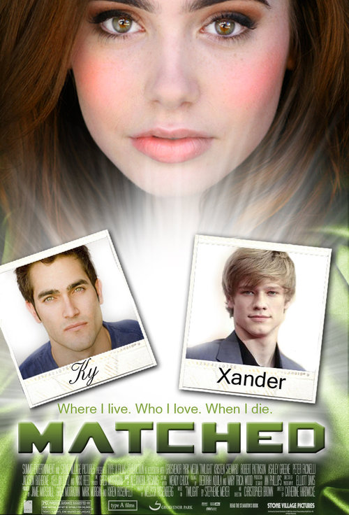 A view on the characters in the novel matched by ally condie