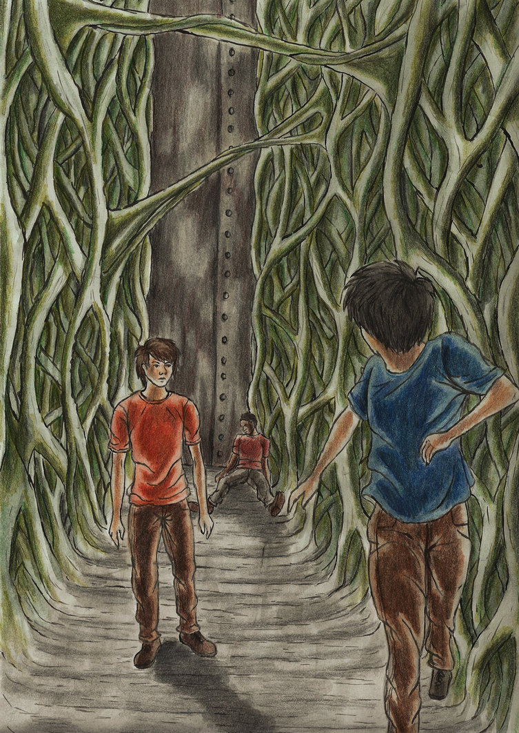 The Maze Runner The Glade Drawing