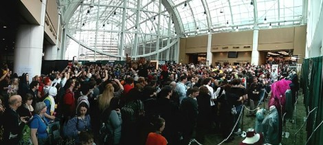 Panaroma from Comicon