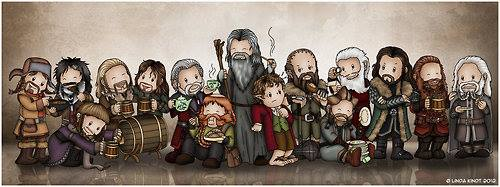 The Company of Thorin Oakenshield   Made Adorable! | The