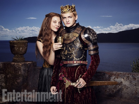 joffrey and margaery featured in new game of thrones photoshoot the fandom. Black Bedroom Furniture Sets. Home Design Ideas