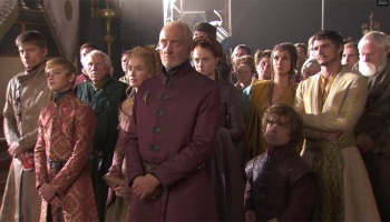 Game Of Thrones Purple Wedding.Game Of Thrones Cast React To The Purple Wedding Thefandom News