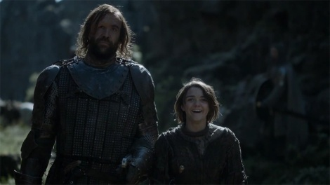 got-hound-arya-laugh