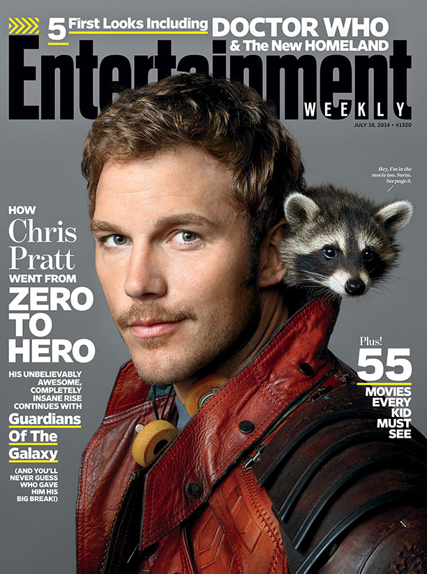 GUARDIANS OF THE GALAXY's Chris Pratt on...