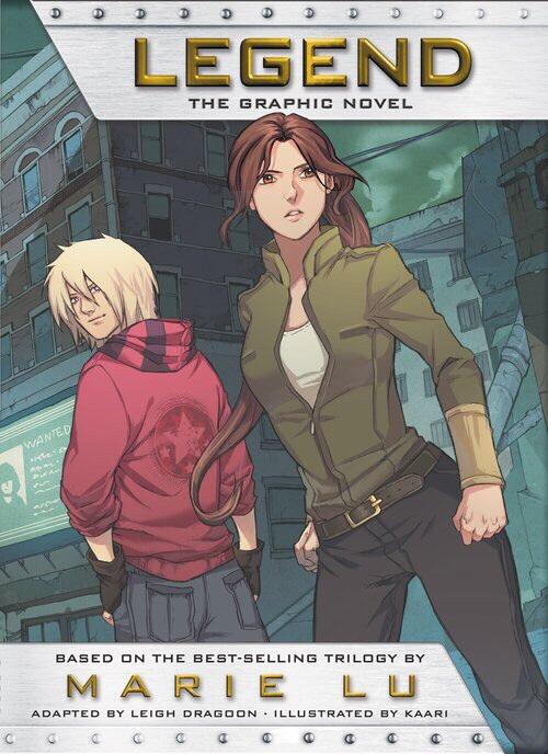 Marie Lu Announces Graphic Novel for LEGEND