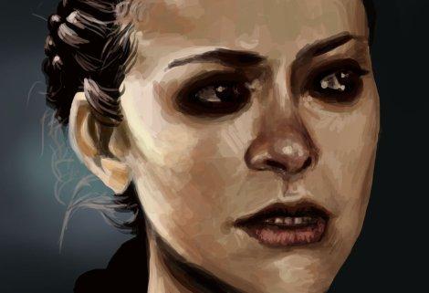paint_sketch___orphan_black_by_yamikatt-d6fll37