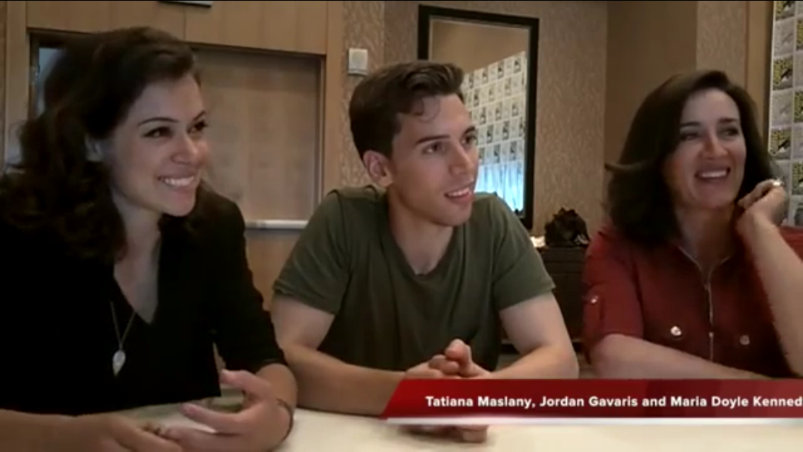 Tv Addict Interviews The Cast Of Orphan Black At Sdcc The