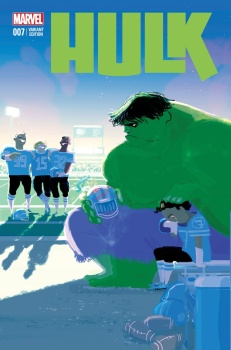 Hulk #7, by Pascal Campion