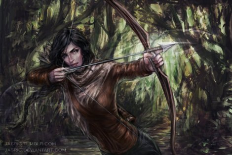 katniss_by_jasric-d6vmht3